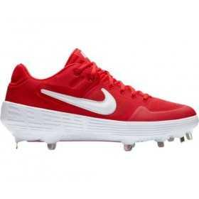 AJ6873-601_Crampons de Baseball métal Nike Alpha Huarache Elite 2 Low Rouge Pour Homme