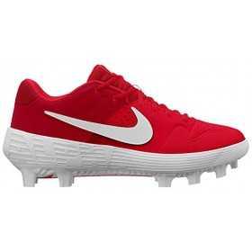 AO7961-601_Crampons de Baseball moulé Nike Alpha Huarache Elite 2 Low Rouge Pour Homme