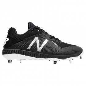 L4040BK4_Crampons de Baseball New balance Spikes Metal low 4040V4 Noir pour Homme