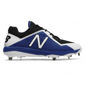 L4040BB4_Crampons de Baseball New balance Spikes Metal low 4040V4 Bleu pour Homme