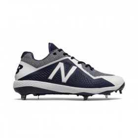 L4040TN4_Crampons de Baseball New balance Spikes Metal low 4040V4 Bleu marine pour Homme