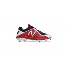 L4040BR4_Crampons de Baseball New balance Spikes Metal low 4040V4 Rouge pour Homme
