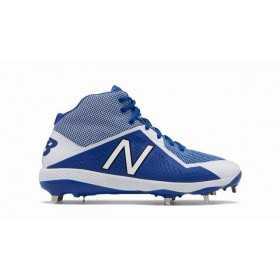 M4040TB4_Crampons de Baseball New balance Spikes Metal Mid 4040V4 Bleu pour Homme