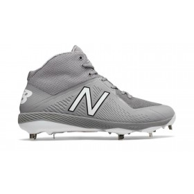 M4040AG4_Crampons de Baseball New balance Spikes Metal Mid 4040V4 Gris pour Homme