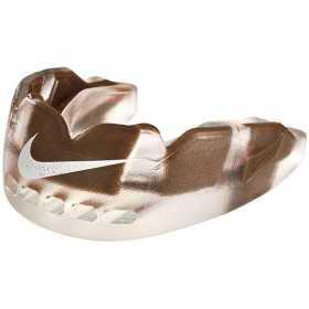 NUU37-952_Protège dent Nike Hyperflow Adulte marron avec strap et saveur goût chocolat