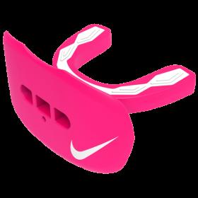 NUU47-637_Protège dent+Lèvre Nike Hyperflow Adulte Rose avec strap et saveur Chwing-Gum