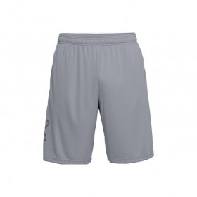 1306443-035_Short Under Armour Tech Graphic Gris pour homme