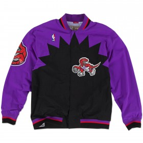 AWJKGS18062-TRAPURP95_Warm up NBA Toronto Raptors 1995-96 Mitchell & Ness Authentic Jacket Violet pour Homme