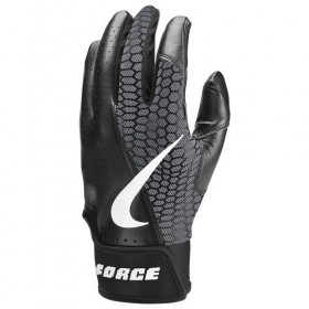 NBG21-913_Gant de Batting Nike Force Edge Noir pour adulte