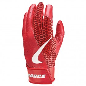 NBG21-927_Gants de Batting Nike Force Edge Rouge pour adulte