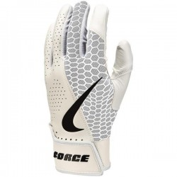 NBG21-932_Gants de Batting Nike Force Edge Blanc pour adulte