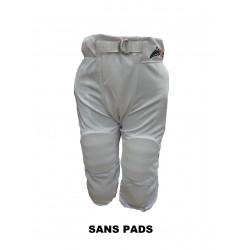 SPORTLANDPANT20WHT_Pantalon de football américain Sportland 2.0 Blanc pour adulte