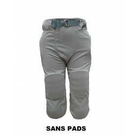 SPORTLANDPANT20GRY_Pantalon de football américain Sportland 2.0 Gris pour adulte