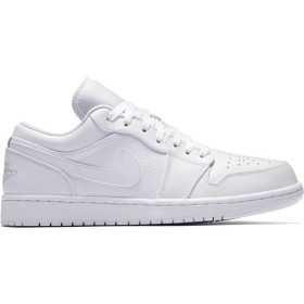 553558-109_Chaussure Air Jordan 1 Low Blanc pour homme