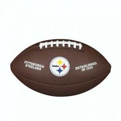 WTF1748XBPT_Ballon Football Américain NFL Pittsburgh Steelers Wilson Licenced