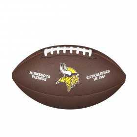 WTF1748XBMN_Ballon Football Américain NFL Minnesota Vikings Wilson Licenced