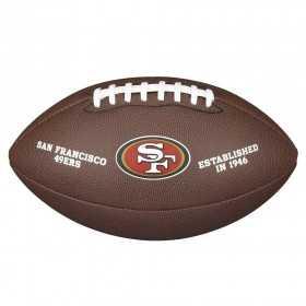 Wilson Licenced ball NFL San Francisco 49ers