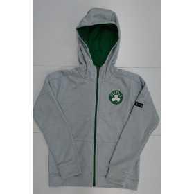 Sweat Zip NBA Boston Celtics Outer Stuff Enduring gris para nino