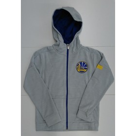 EK2B7BA6U-WAR_Veste Zippé NBA Golden State Warriors Outer Stuff Enduring Gris pour Junior