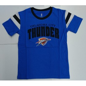 EK2B7BA7A-THU_T-shirt NBA Oklahoma City Thunder Outer Stuff Game Daze Bleu pour enfant