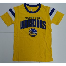 EK2B7BA7A-WAR_T-shirt NBA Golden State Warriors Outer Stuff Game Daze Jaune pour enfant