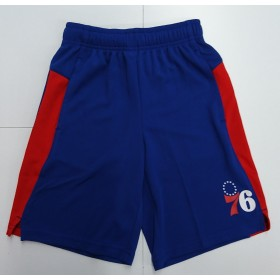 EK2B7BA6W-76R_Short NBA Philadelphia 76ers Outer Stuff Grand Bleu pour enfant