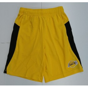 EK2B7BA6W-LAK_Short NBA Los Angeles Lakers Outer Stuff Grand Jaune pour enfant