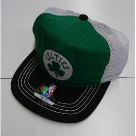 EK2BOBA2F-CEL_Casquette NBA Boston Celtics Outer Stuff Meshback Flatbrim réglable Vert pour enfant