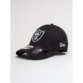11871543_Casquette NFL Oakland Raiders New Era Feather Perf 39Thirty Noir
