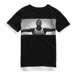 955632-023_T-shirt Jordan Free Throw Fly Noir Pour Enfant