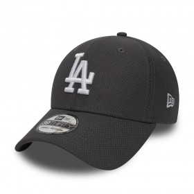 11871598_Casquette de Baseball MLB Los Angeles Dodgers New Era Diamond Era 39thirty Gris