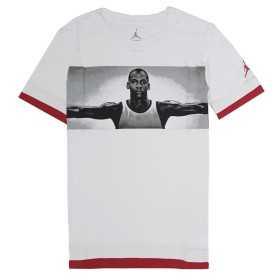 8U5632-001_T-shirt Jordan Free Throw Fly Blanc Pour Junior