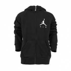 955213-023_Sweat à capuche Zippé pour enfant Jordan Jumpman Fleece Noir