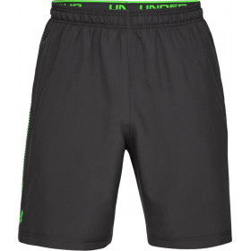 1309651-010_Short Under Armour Woven Graphic Noir GRN pour homme