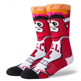 Chaussettes Stance NBA Arena Benny The Bull Rouge // M545D18BEN