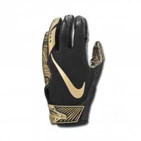 Nike vapor Jet 5.0 receiver football gloves black Gold