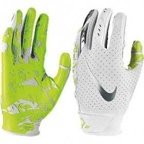 Youth's Nike vapor Jet 5.0 receiver football gloves white