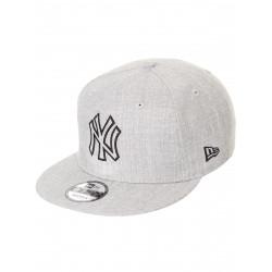 11794767_Casquette de baseball MLB New York Yankees New Era Heather Essential snapback 9fifty Gris