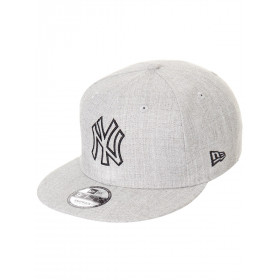 11794767_Casquette de baseball MLB New York Yankees New Era Heather Essential snapback 9fifty Gris