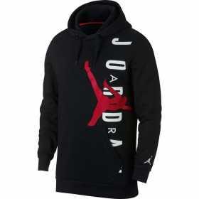 AO0446-010_Sweat à capuche Jordan Jumpman Air Lightweight Noir pour homme