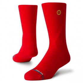 M559A19GAM-RED_Chaussettes de Basketball Stance Basketball Gameday Pro Rouge