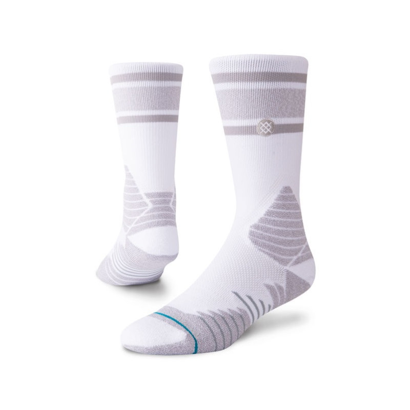 Chaussettes de Basketball Stance Basketball Gameday Stripe gris
