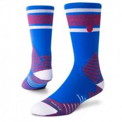 M559D18GAM-BLU_Chaussettes de Basketball Stance Basketball Gameday Stripe Bleu