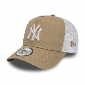 11871466_Casquette MLB New York Yankees New Era League Essential Trucker Fauve