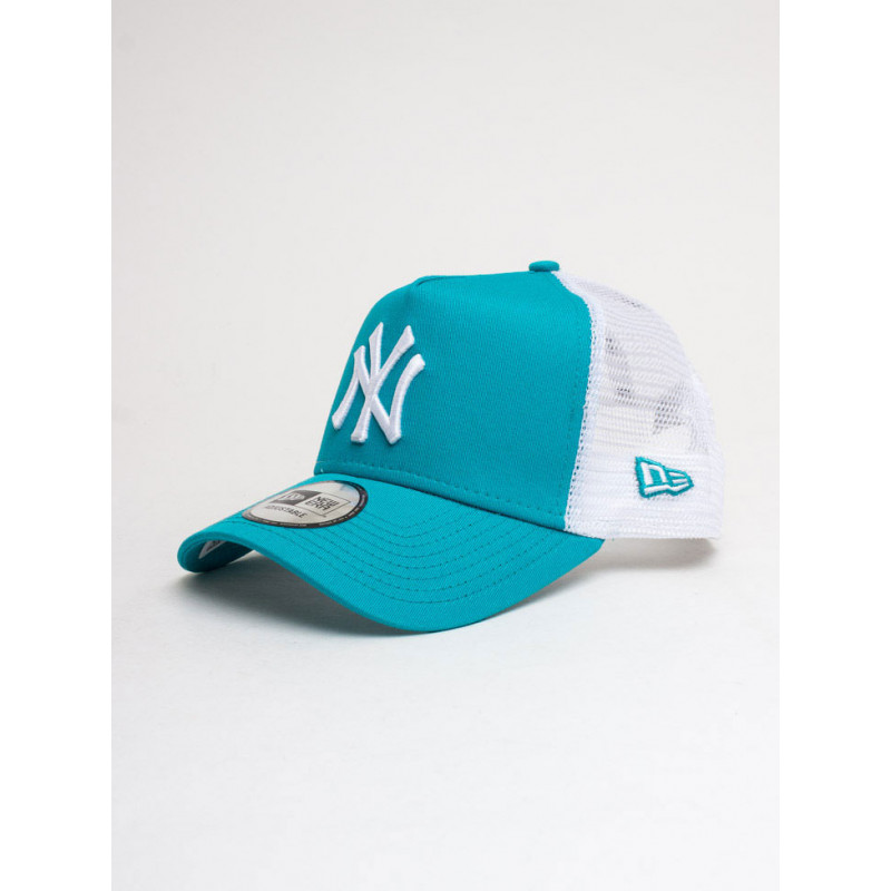 Casquette MLB New York Yankees New Era League Essential Trucker 2 Turquoise //11945644
