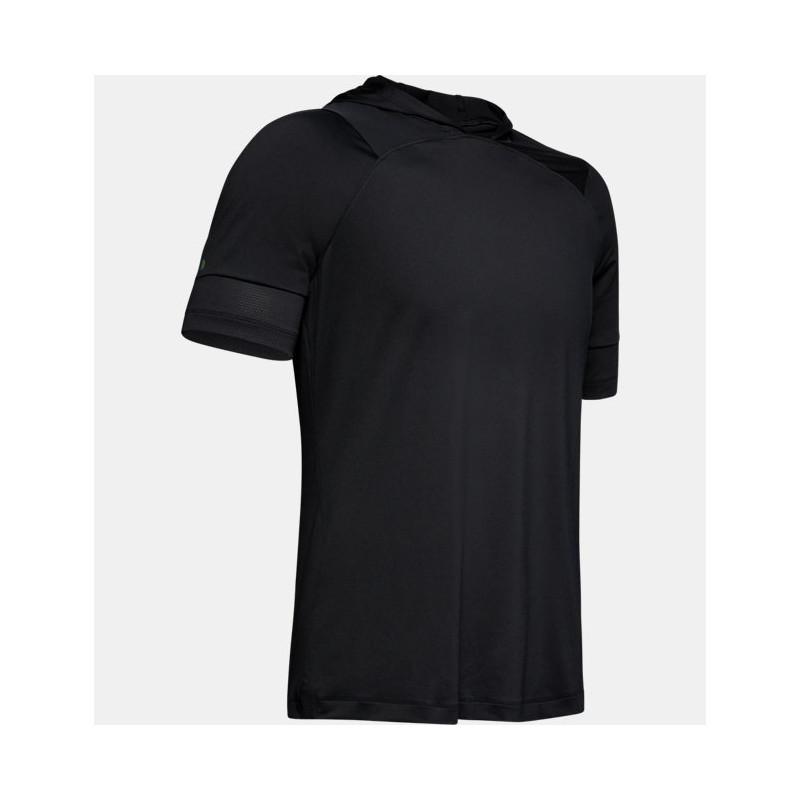 1327641-001_T-shirt Under Armour Heatgear Ruch Fitted Noir pour Homme
