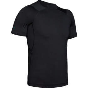 1327644-001_T-shirt de compression Under Armour Heatgear Rush Noir pour homme