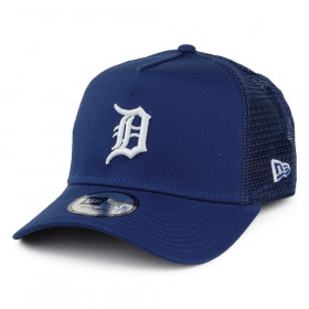 11945649_Casquette MLB Detroit Tigers New Era League Essential Trucker Bleu