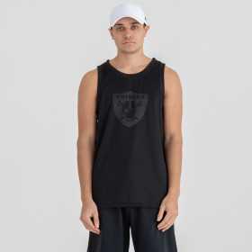 Débardeur NFL Oakland Raiders New Era Tonal Logo Noir pour Homme //11935137