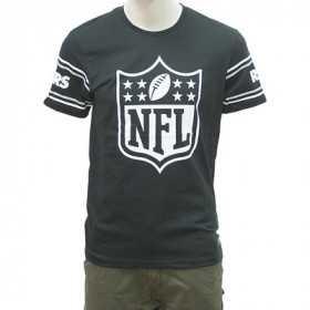 T-Shirt NFL Oakland Raiders New Era Badge Noir pour homme /// 11935175